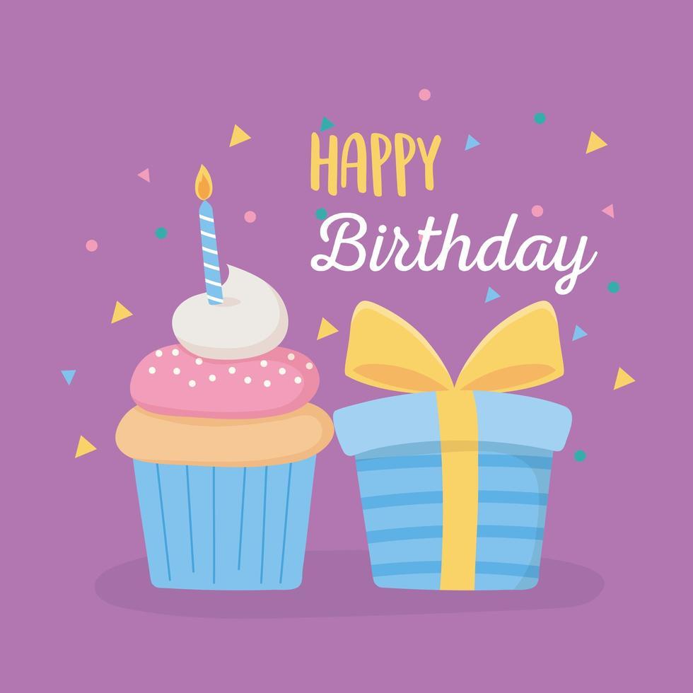 feliz cumpleaños vector