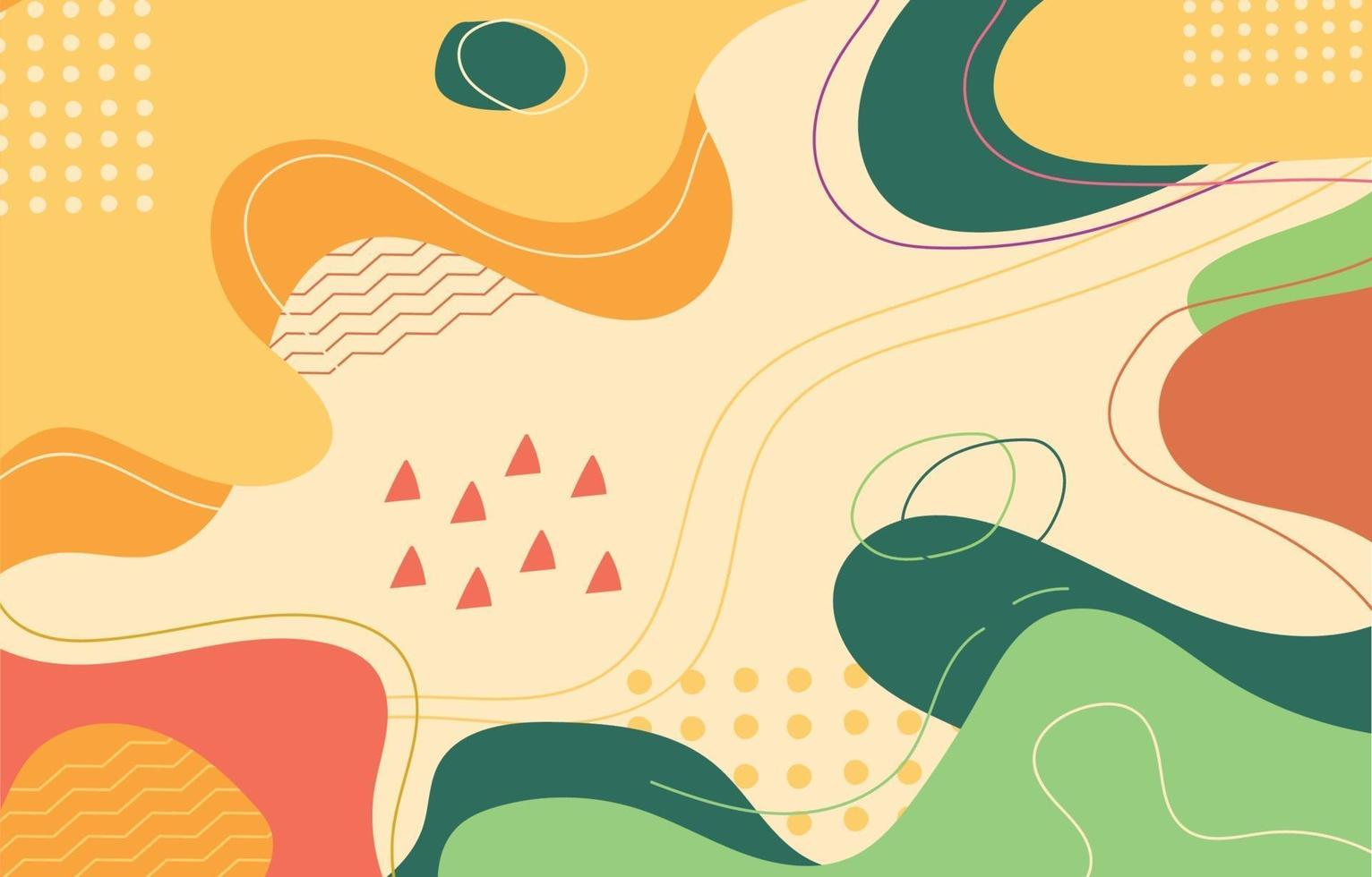 Colorful Fluid Background vector