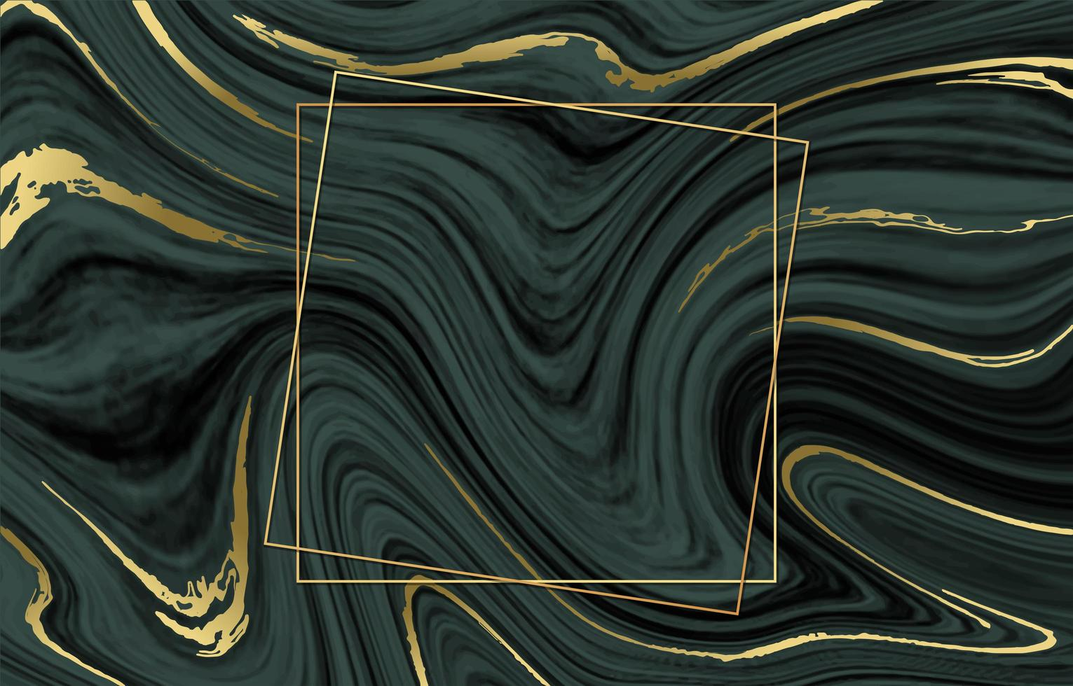 Inkscape Marble Background with Gold Line vector