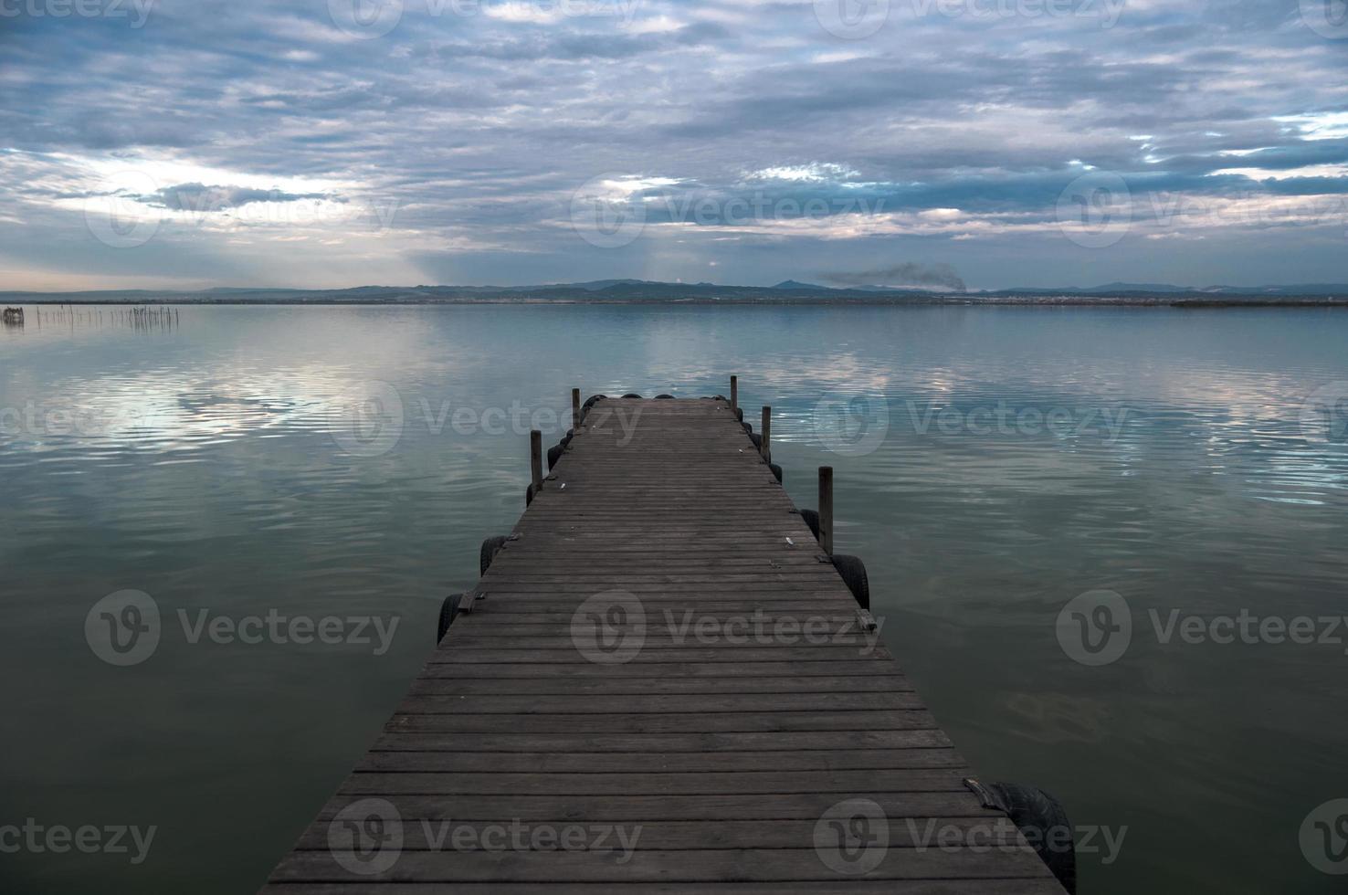 Albufera estuary in Valencia, Spain photo