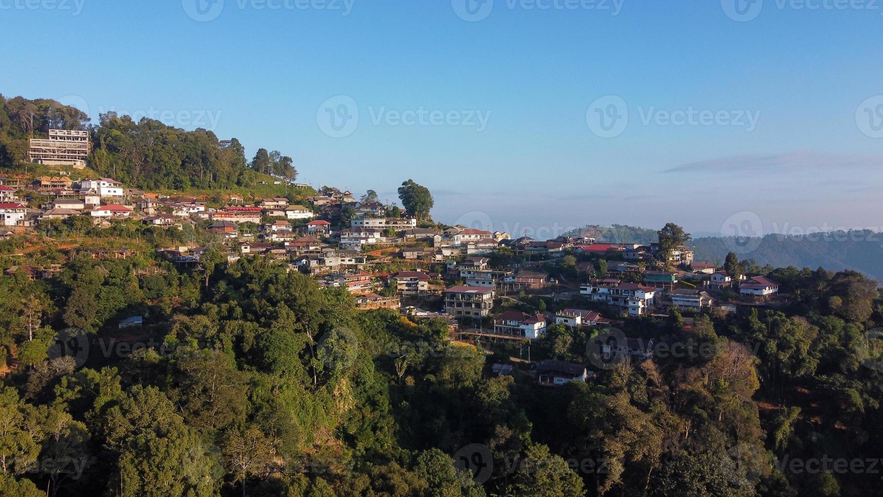 Phahee village, Chiang Rai, Thailand photo