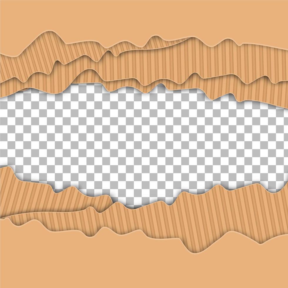 papel rasgado superpuesto vector