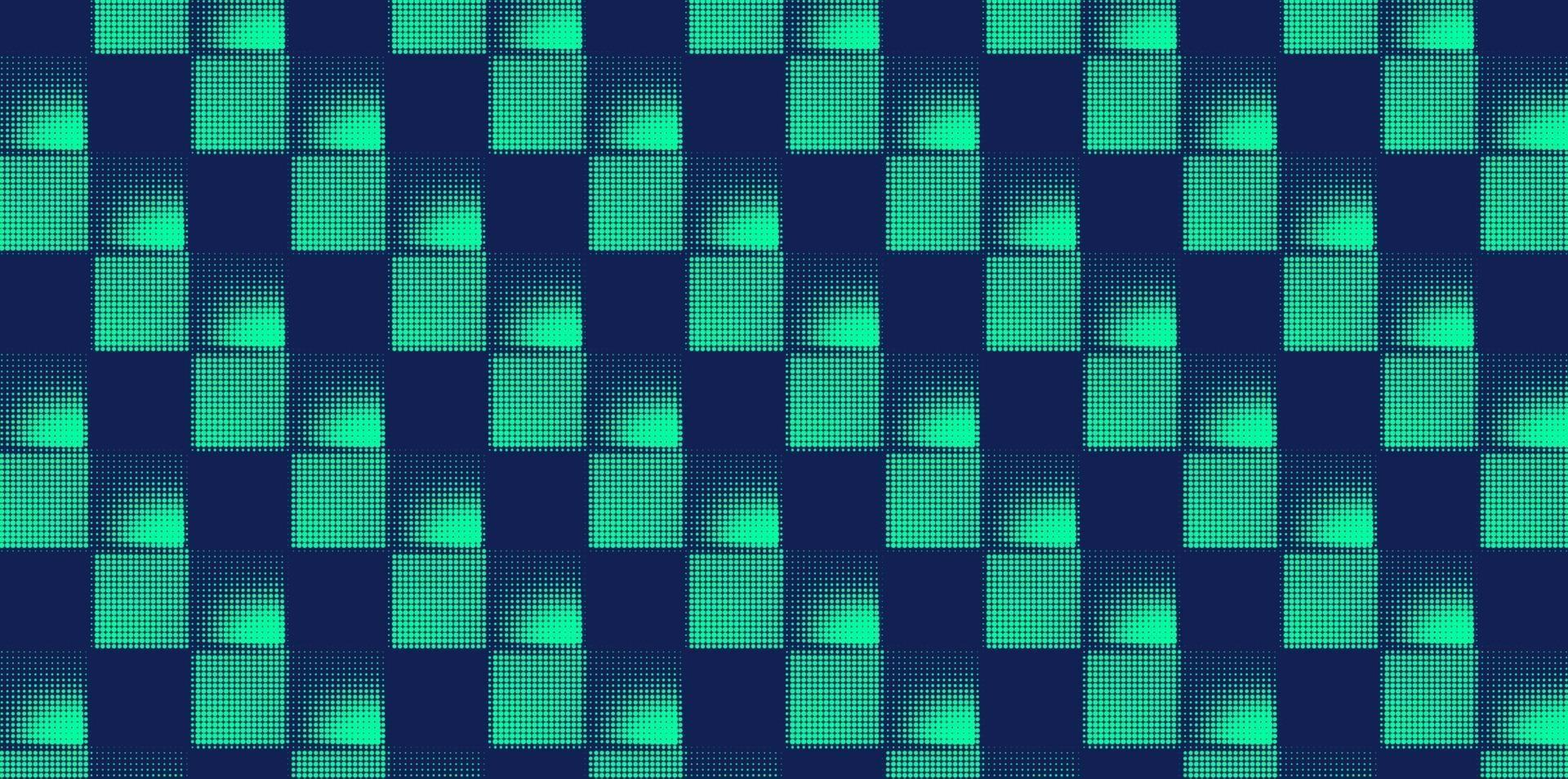 abstract square halftone background vector illustration