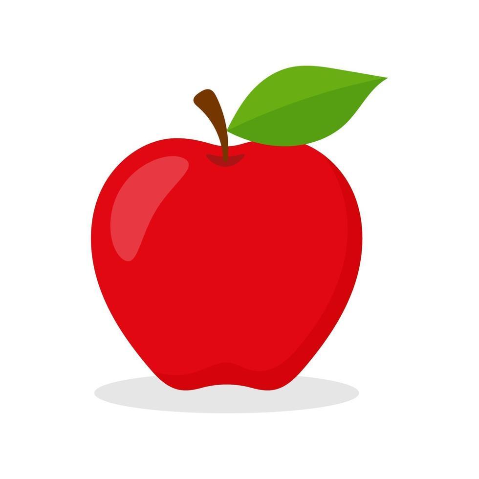 vector de fruta de manzana