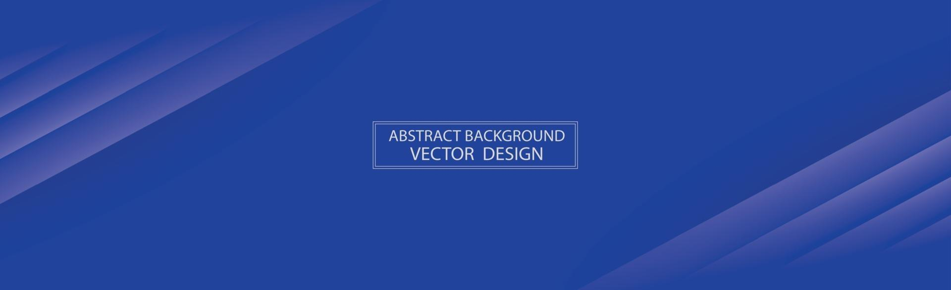 Panoramic abstract background with different shades of blue - Vector