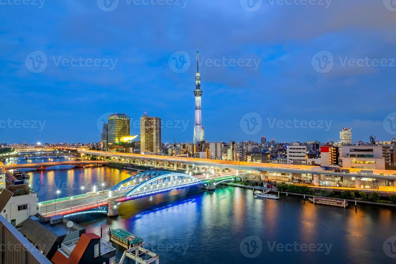 Cityscape of Tokyo, Japan photo