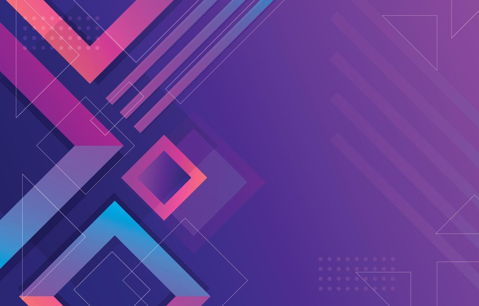 Abstract Geometric Shape Gradient Background vector