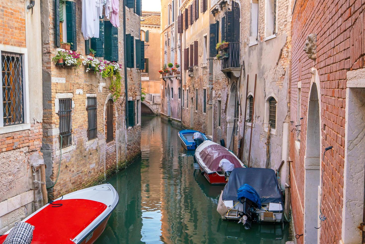 imagen del paisaje urbano del centro de venecia foto