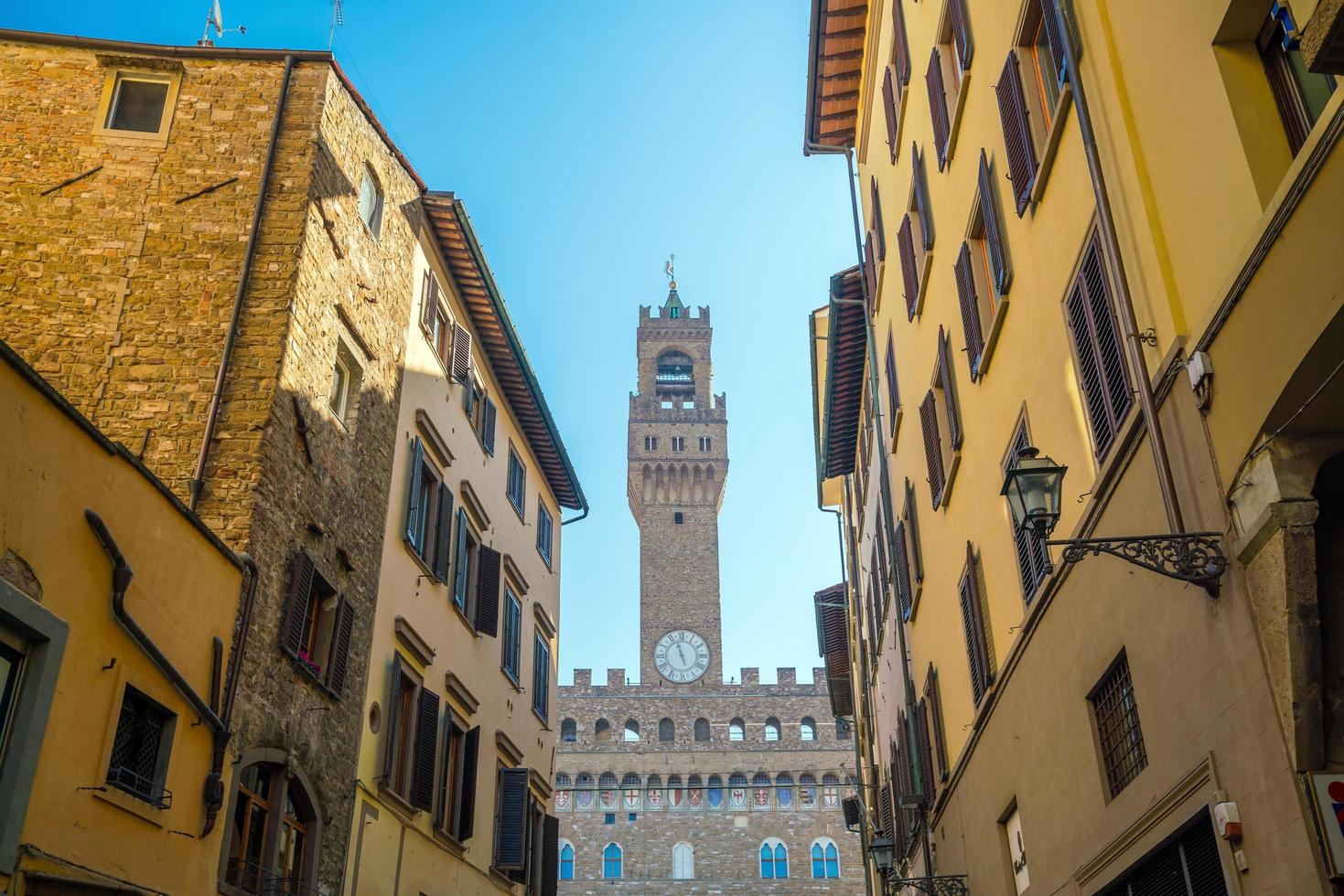 Palazzo vecchio en Florencia Italia foto