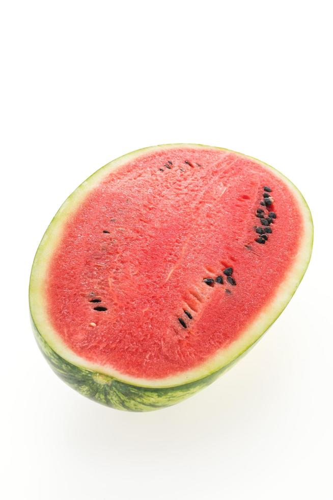 fruta de sandía roja foto