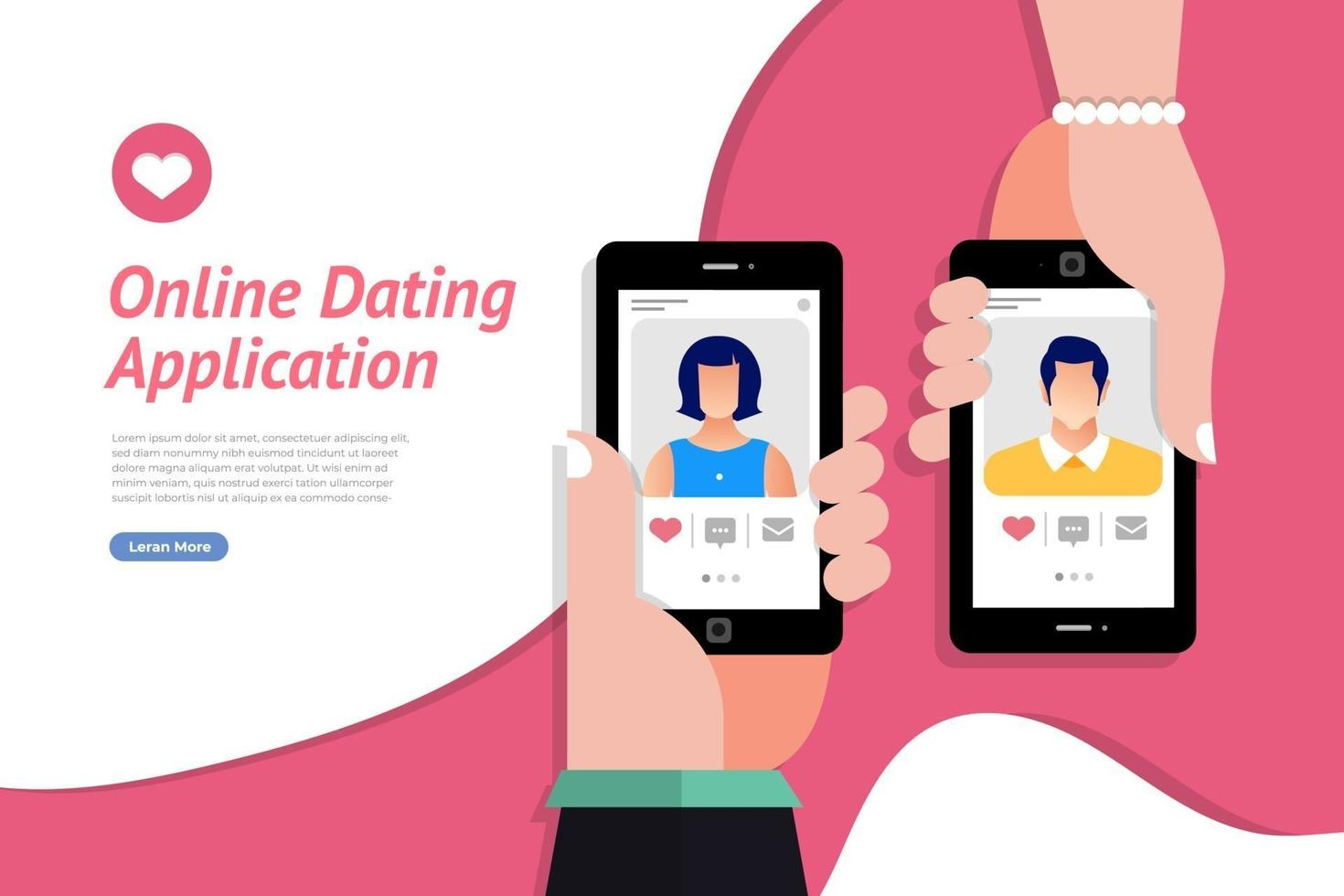 How to register on an online dating app