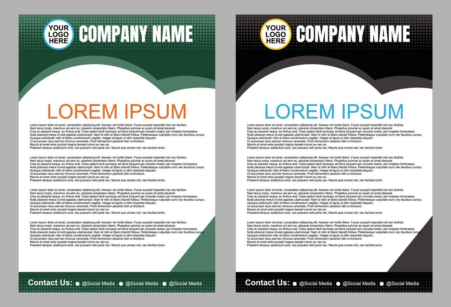 Design of Bussiness Brochure Flyer and Template.Cover layout ...