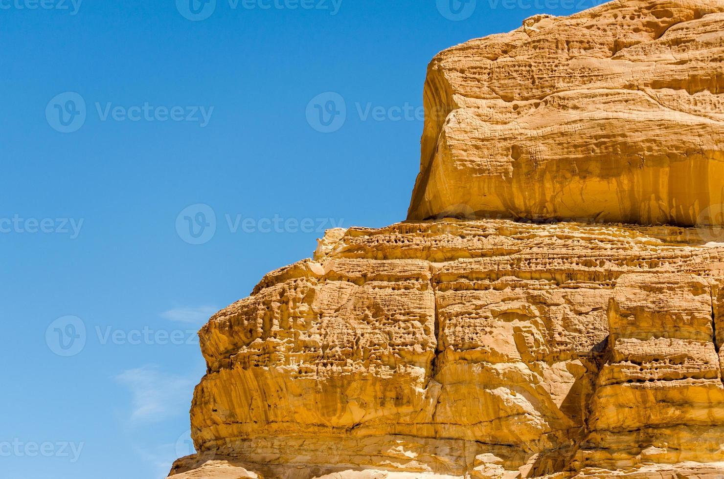 Rocks and sky photo