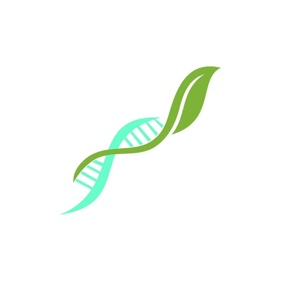 concepto de icono de ilustración de diseño de salud genética vector