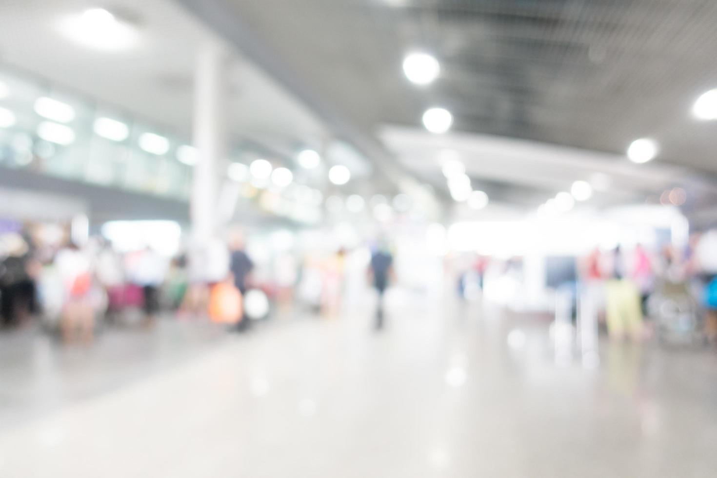 aeropuerto de desenfoque abstracto foto