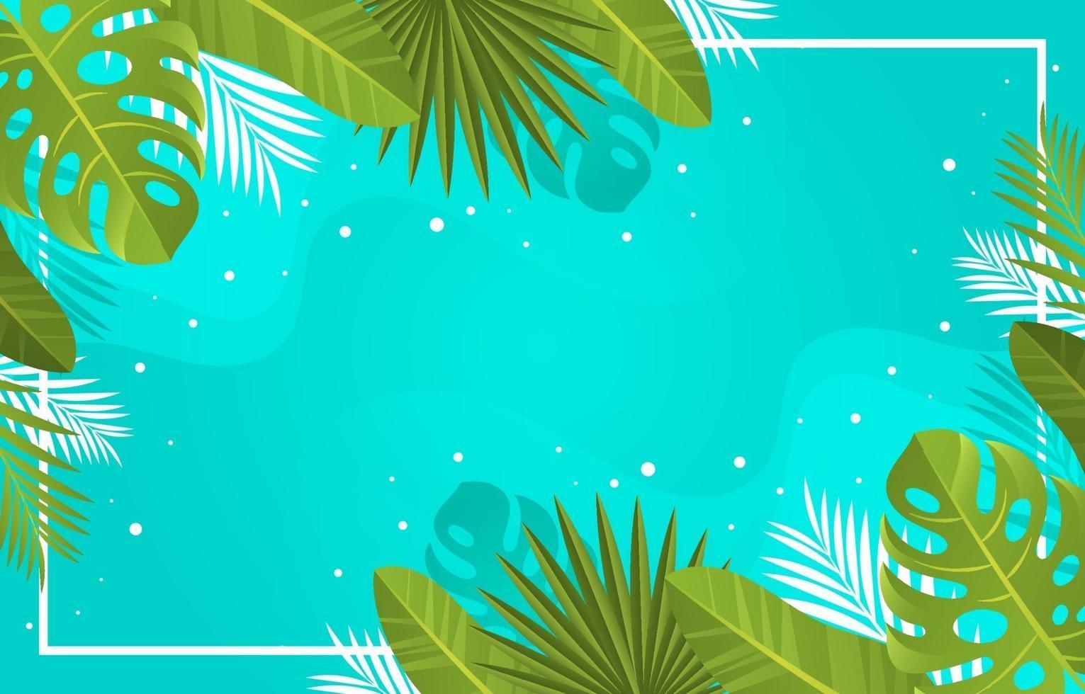 Summer Nature Background vector