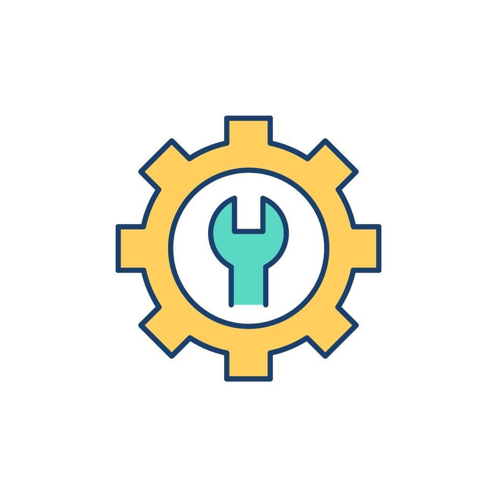 icono de color rgb de personalización vector