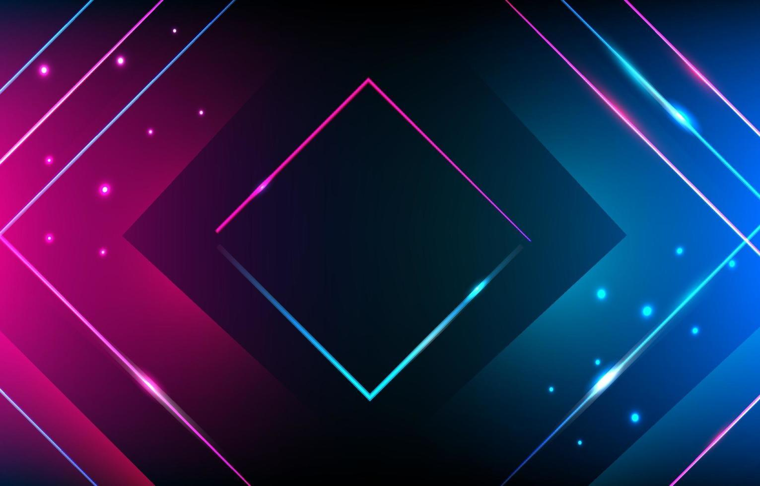 Neon Abstract Background vector