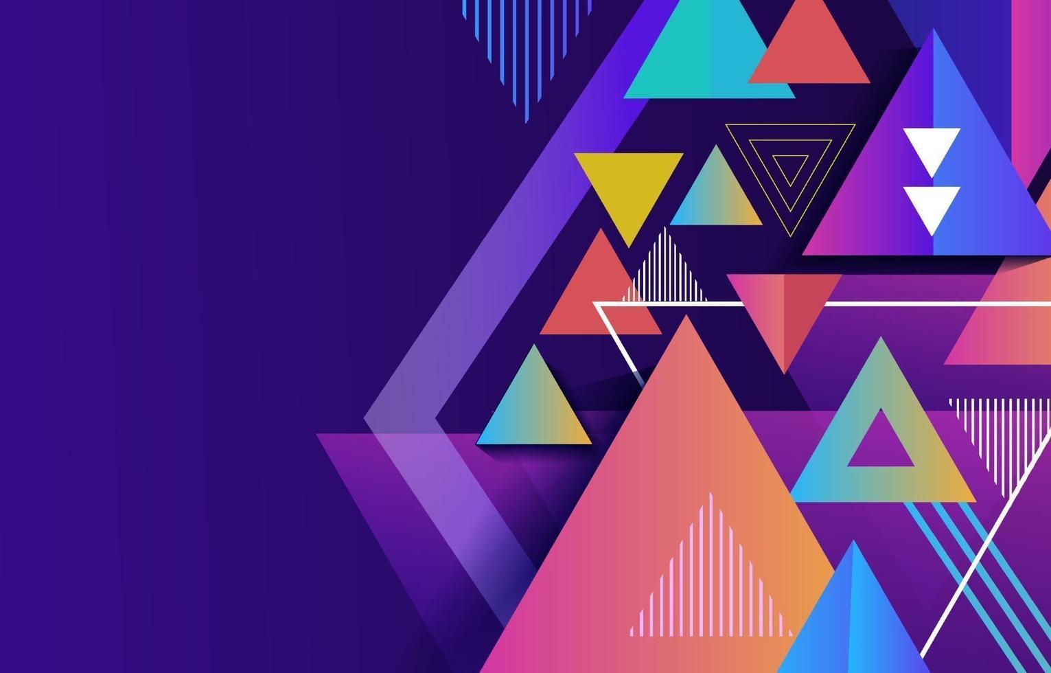 fondo geométrico abstracto vector