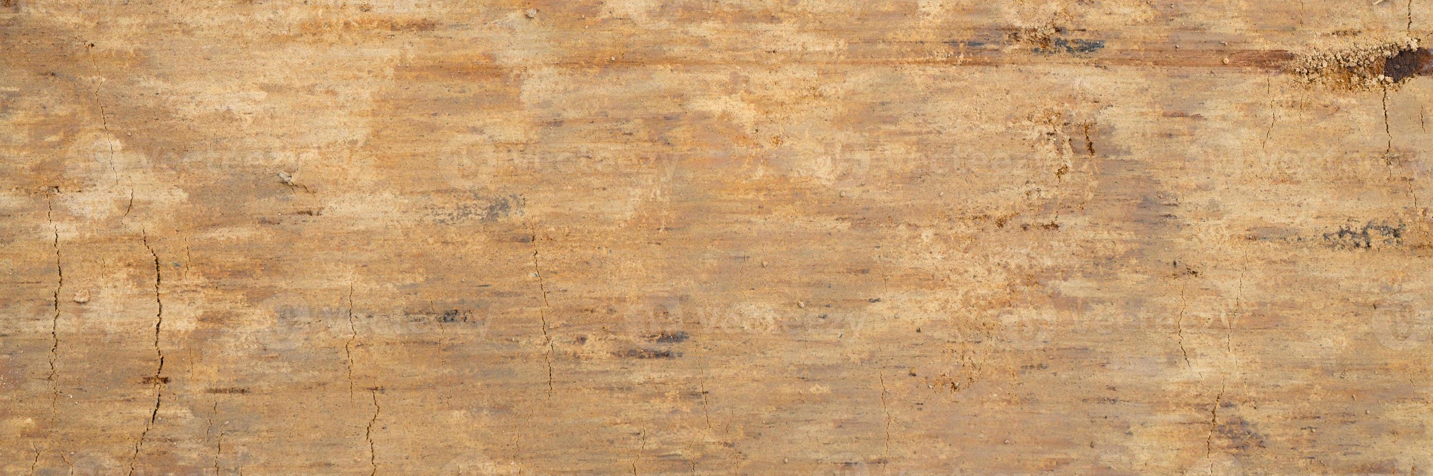 Textura de fondo de la superficie lisa de la arena de madera foto