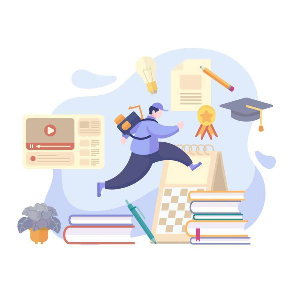 Education Concept Design vector