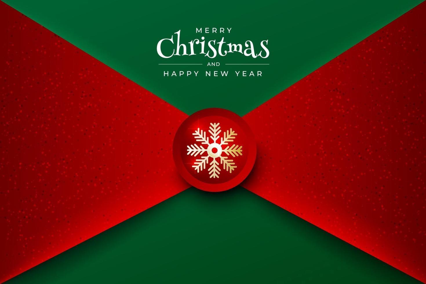 navidad y próspero año nuevo vector