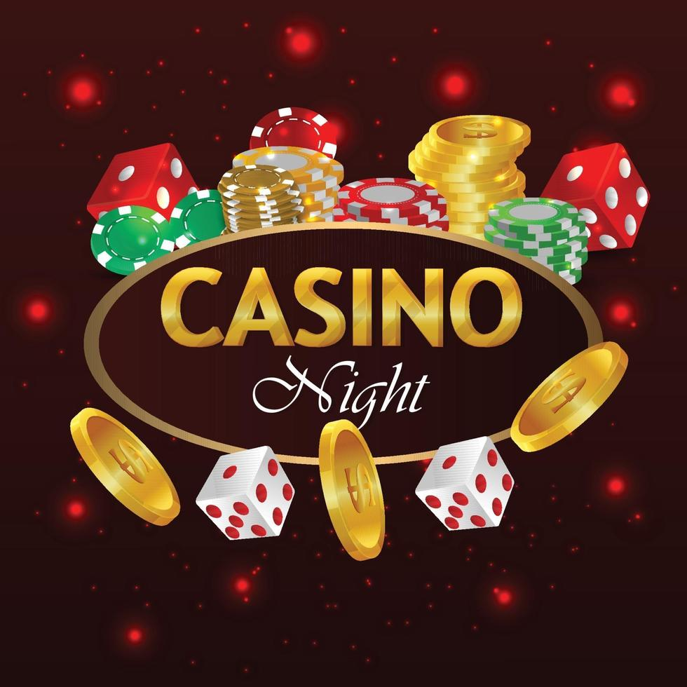 Casino online luxury gambling game playing cards and chip 2215216 -  Download Free Vectors, Clipart Graphics & Vector Art