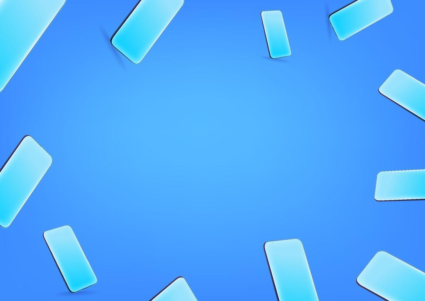 Blue Wallpaper With Modern Smartphones. Social Media Message Vector  Background. Copy Space For A Text 2218678 Vector Art At Vecteezy