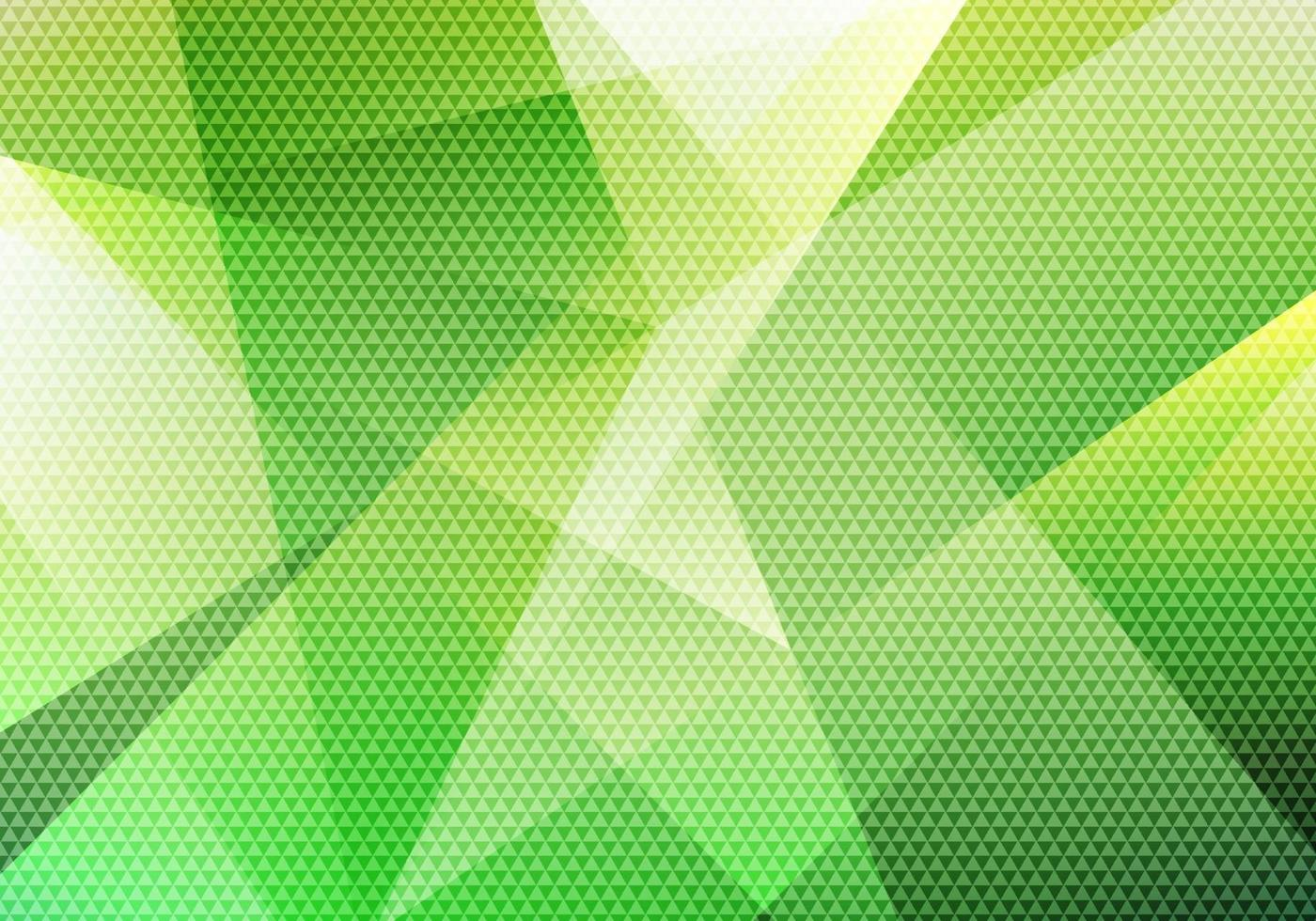 Abstract modern background green low polygon with triangle pattern texture. vector