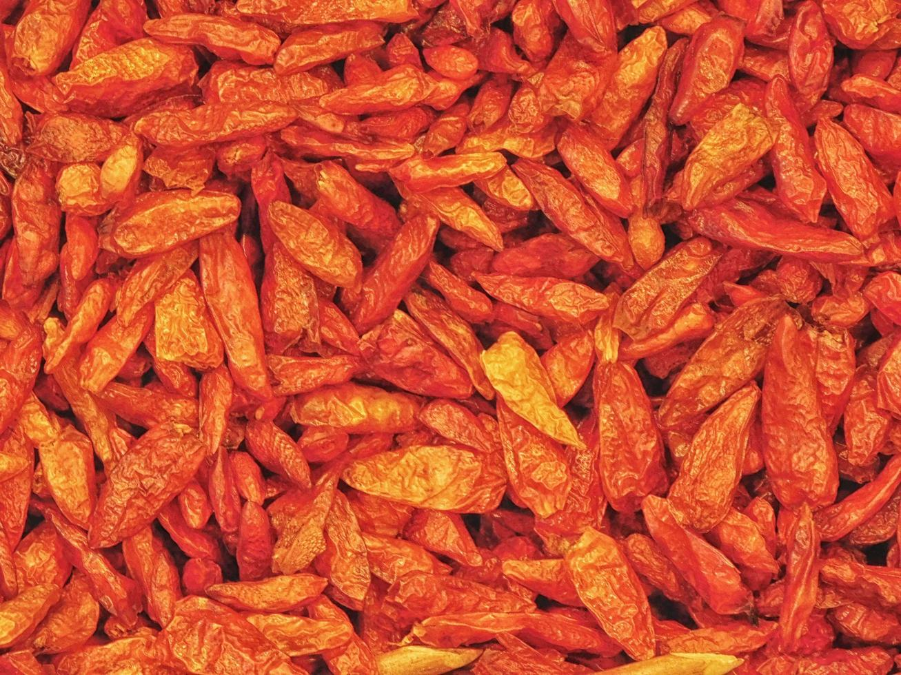 Close-up of chili peppers photo