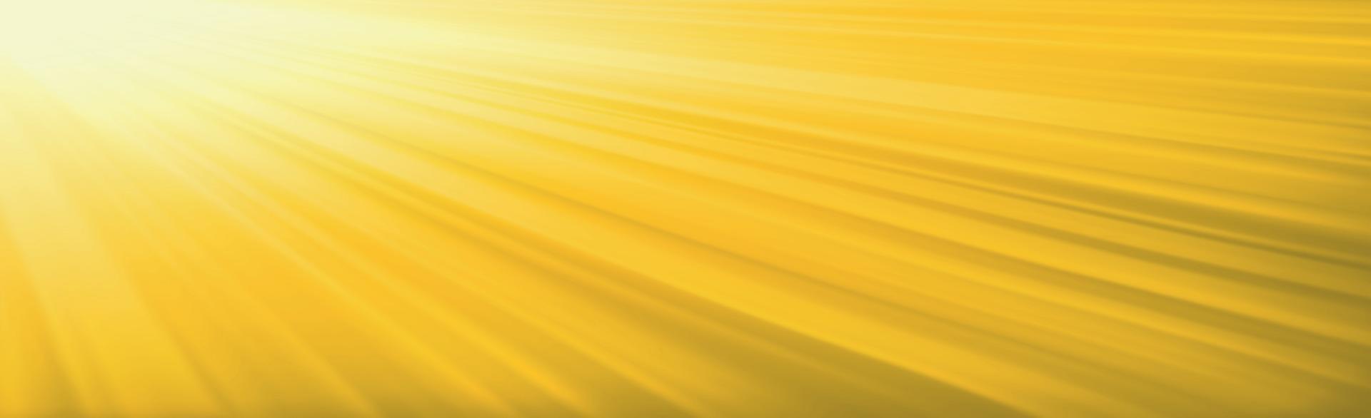 sol brillante sobre un fondo amarillo - ilustración vector