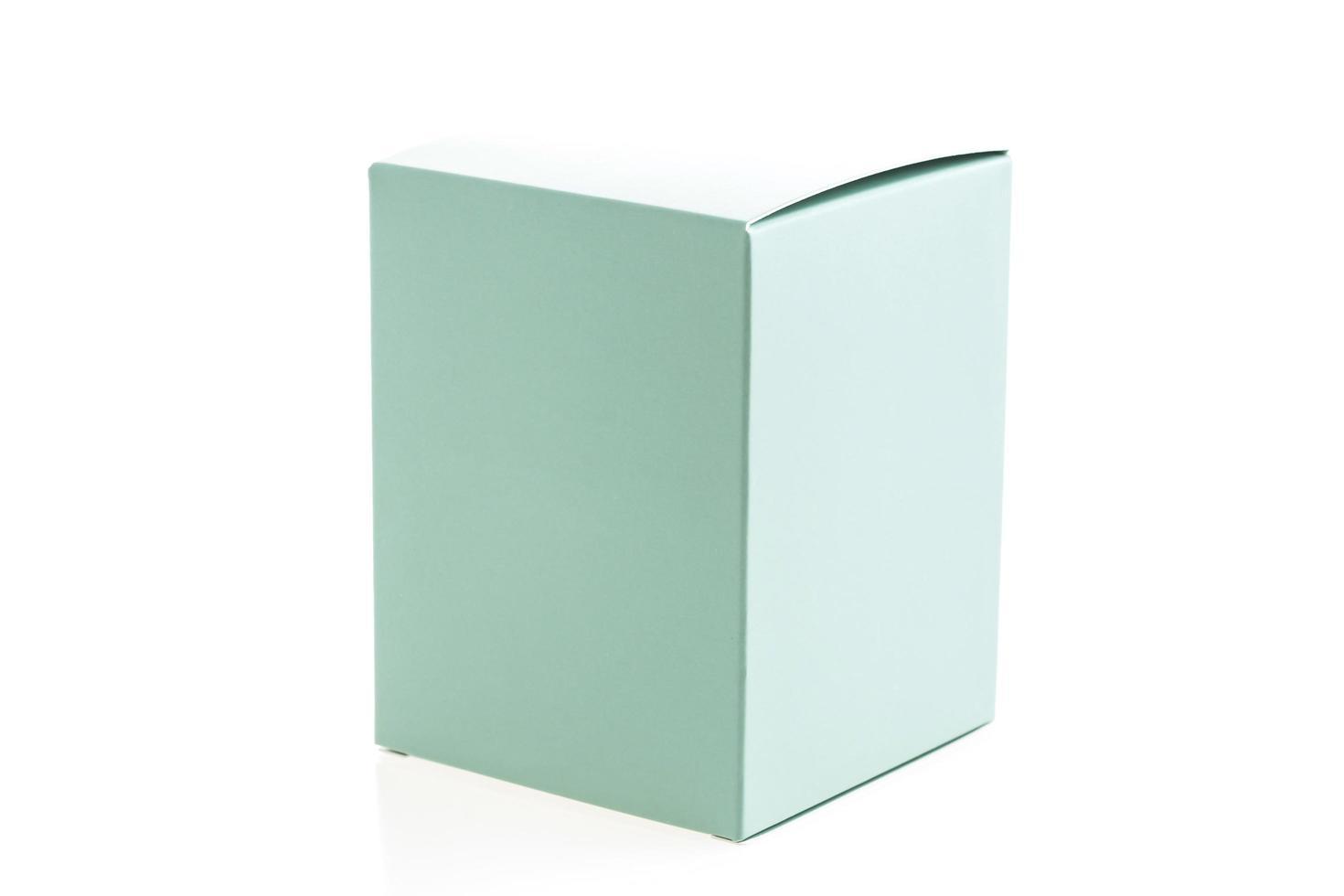 Mock up paper box photo