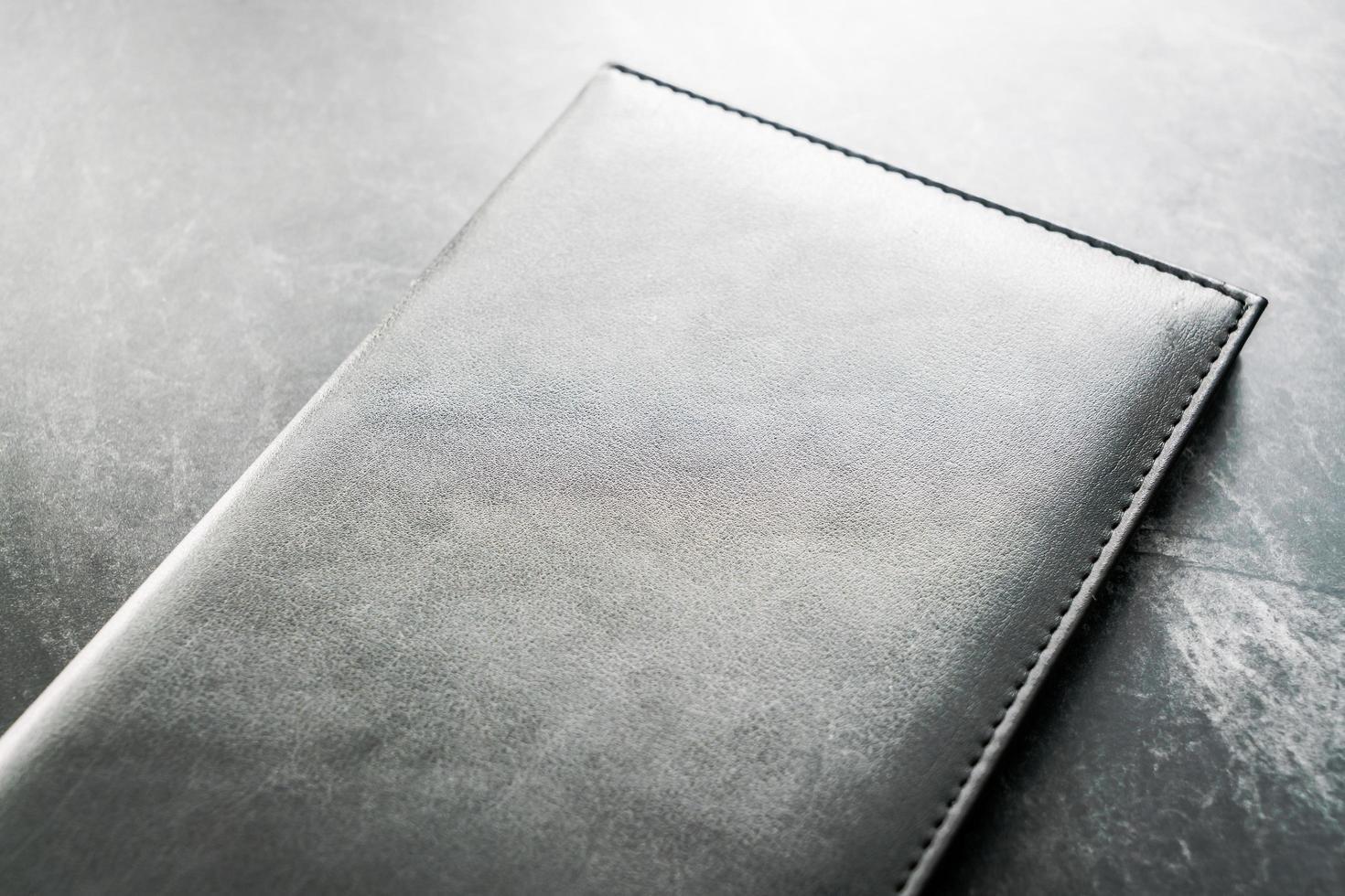 libro de maquetas negro foto