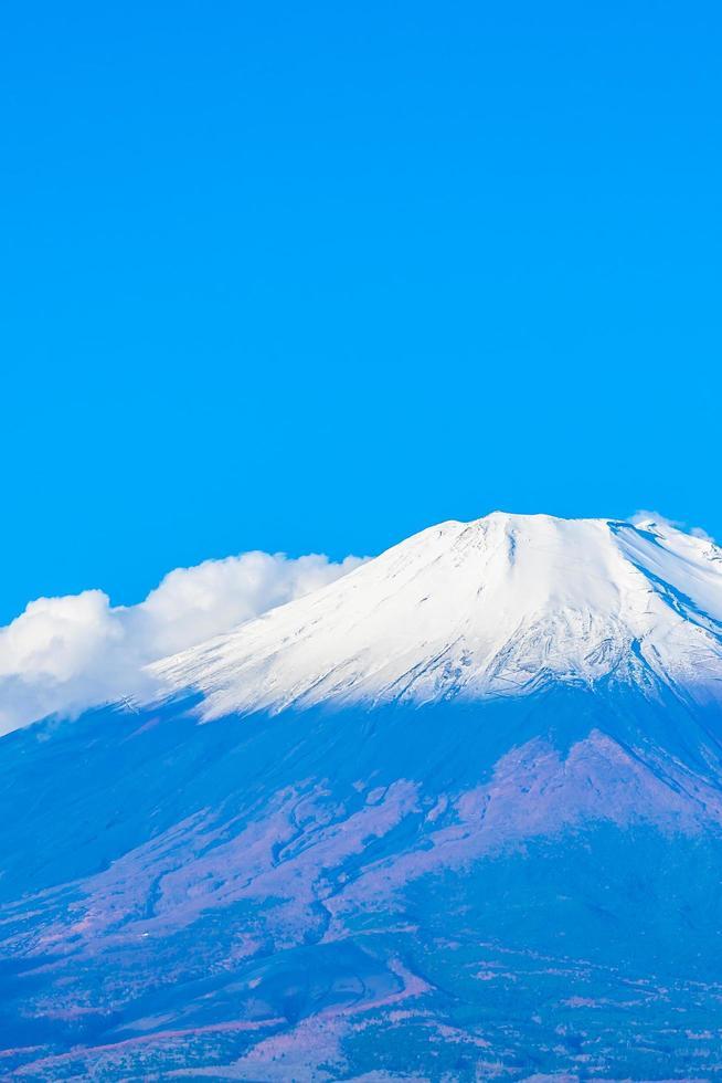hermoso mt. fuji en el lago yamanaka, japón foto