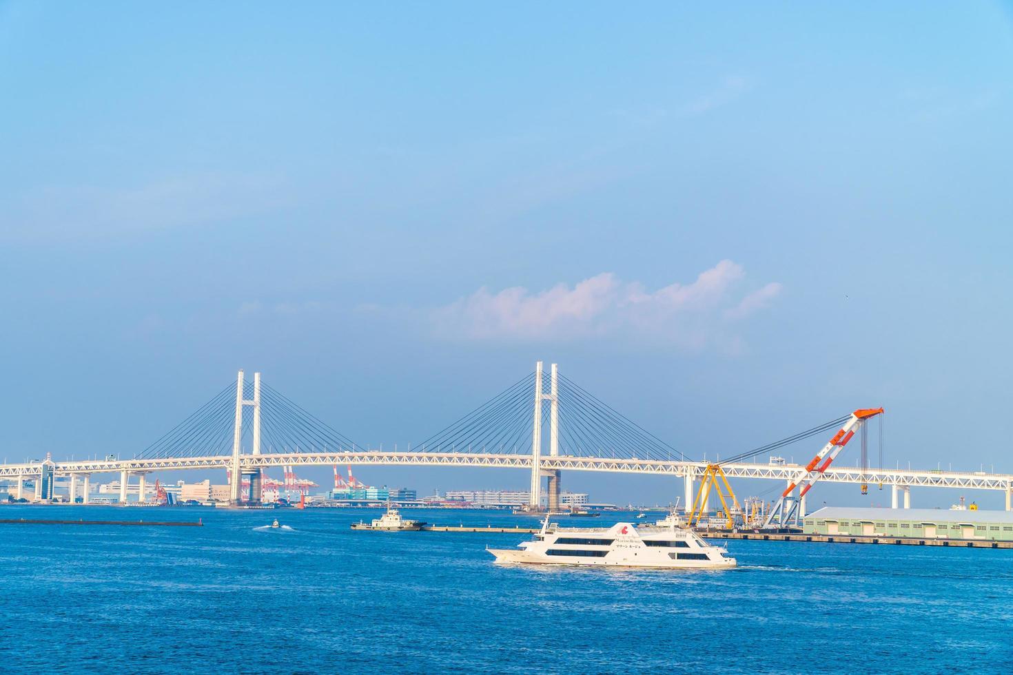Puente de Yokohama en Yokohama, Japón foto