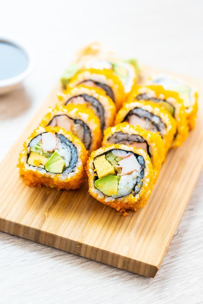 california maki rolls sushi foto