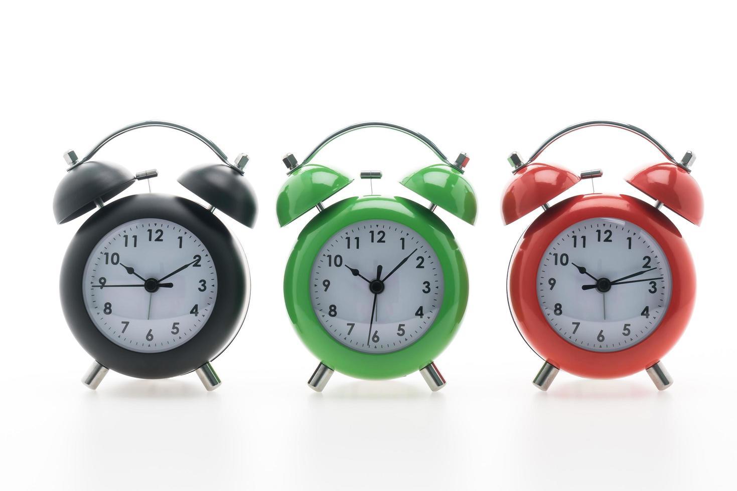 relojes de alarma clásicos foto