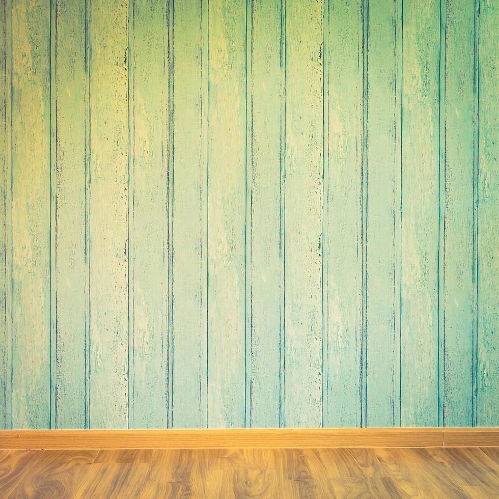 fondo interior de la habitación vacía foto