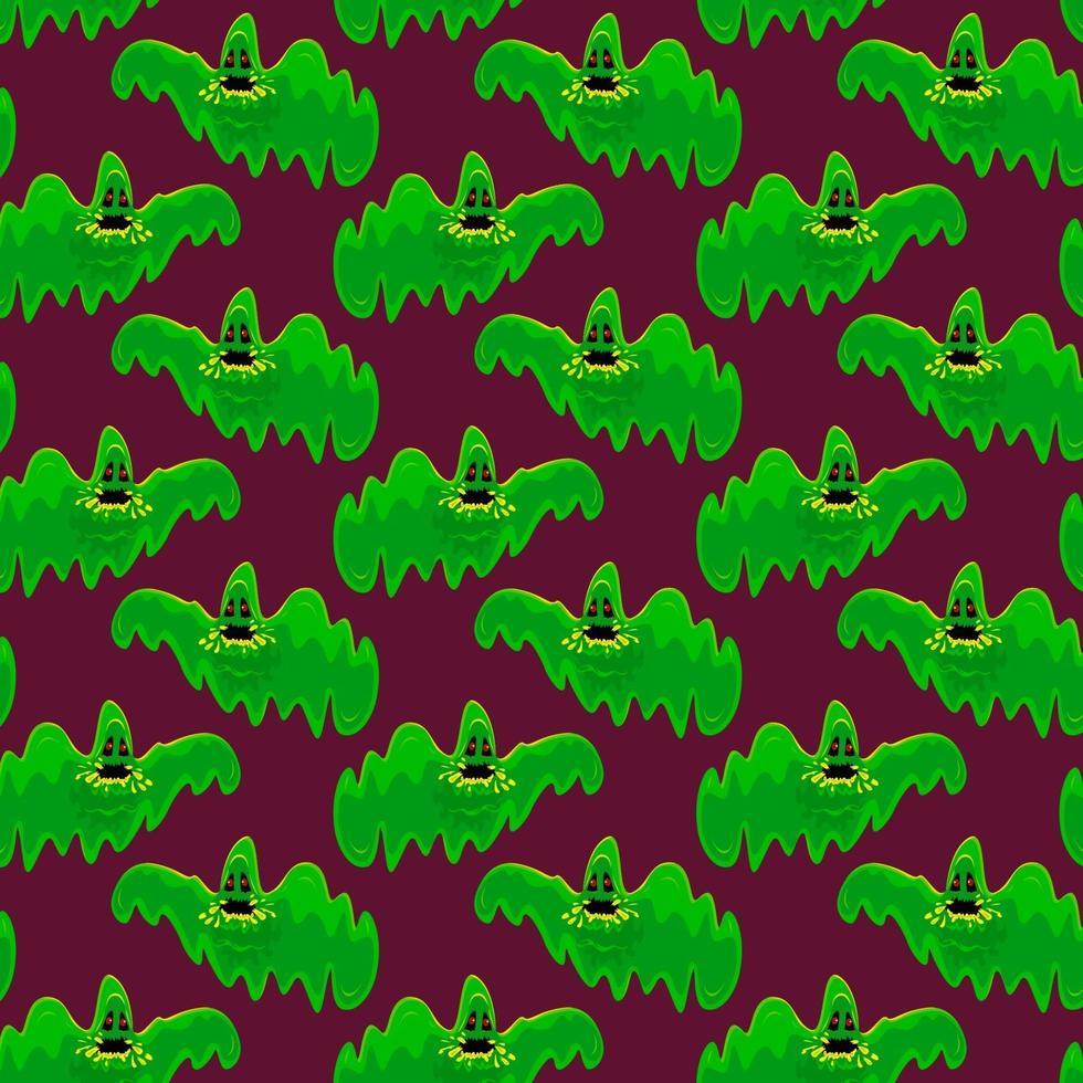 estilo de patrón de ilustraciones de fantasmas vector