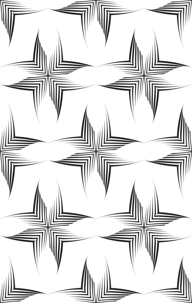 patrón de vector transparente de líneas desiguales dibujadas con un bolígrafo en forma de esquinas o rombos.