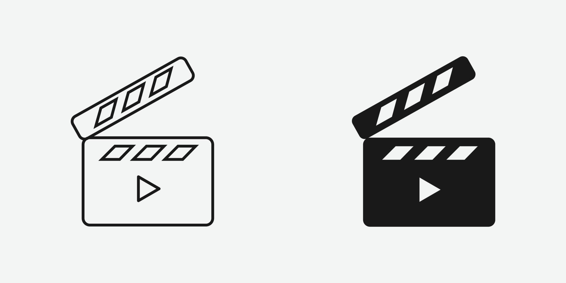 símbolo de icono de vector de badajo para sitio web y aplicación móvil