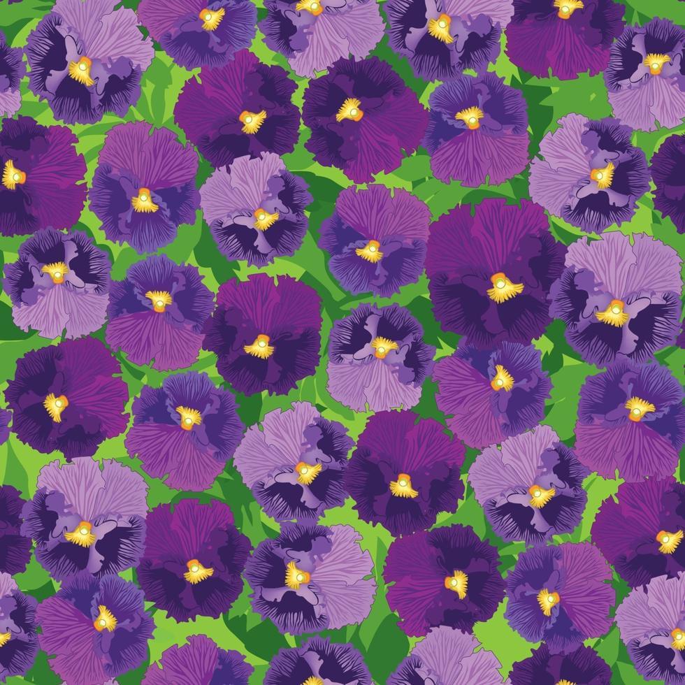 patrón floral sin fisuras. fondo de la flor de la flor. ornamento retro con textura floral con flores. florecer azulejos ornamentales elegante papel tapiz vector