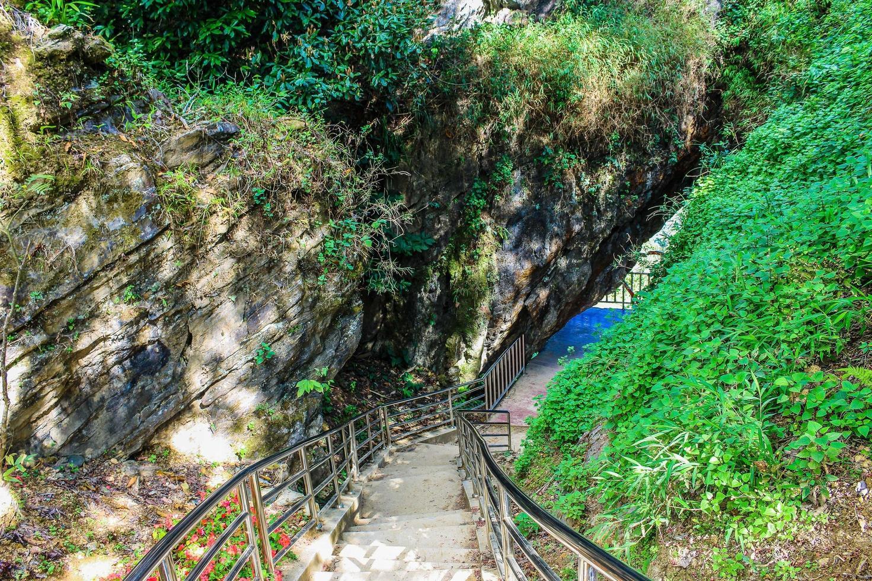 Doi Pha Tang hiking trail in Thailand photo
