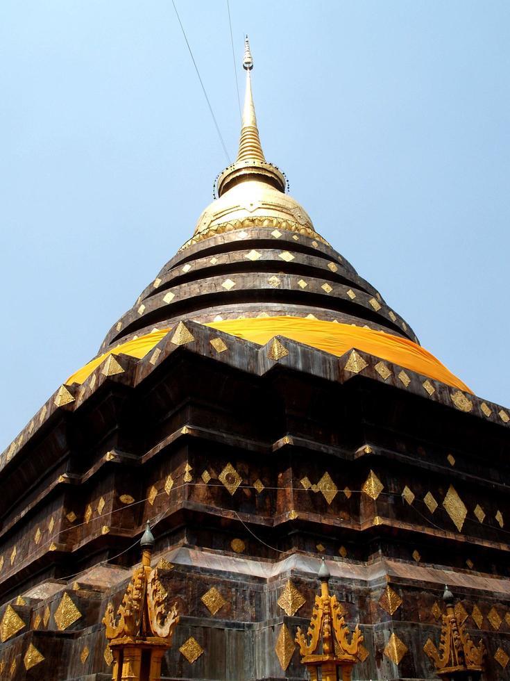 Lampang, Thailand 2013- Wat Phra That Lampang Luang temple photo