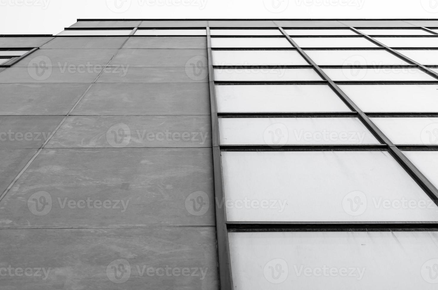 Gray modern building photo