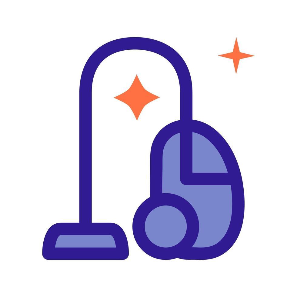 icono de esbozo de aspiradora. elemento vectorial del conjunto, dedicado a la limpieza e higiene. vector