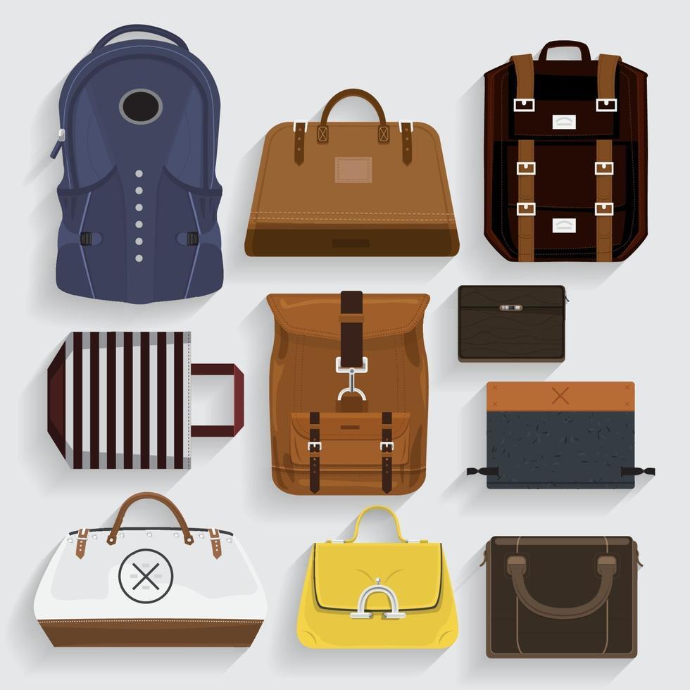 Vector Illustration bags