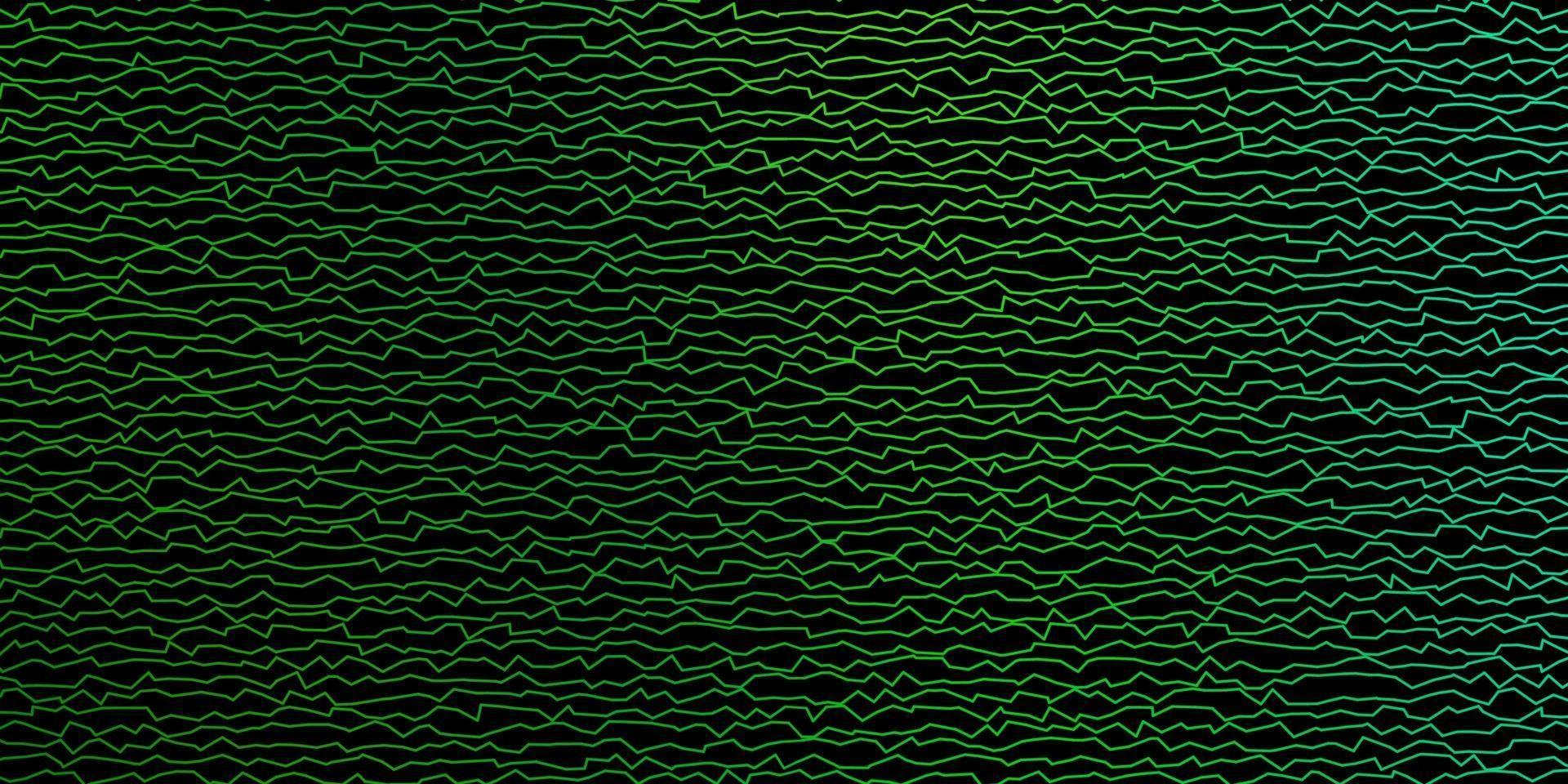 Dark Blue, Green vector pattern with lines.