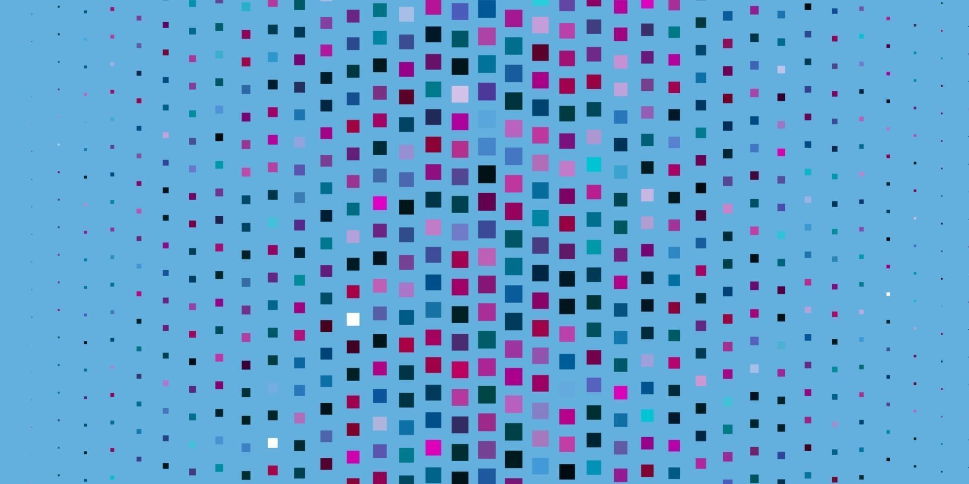 textura de vector azul oscuro, rojo en estilo rectangular.