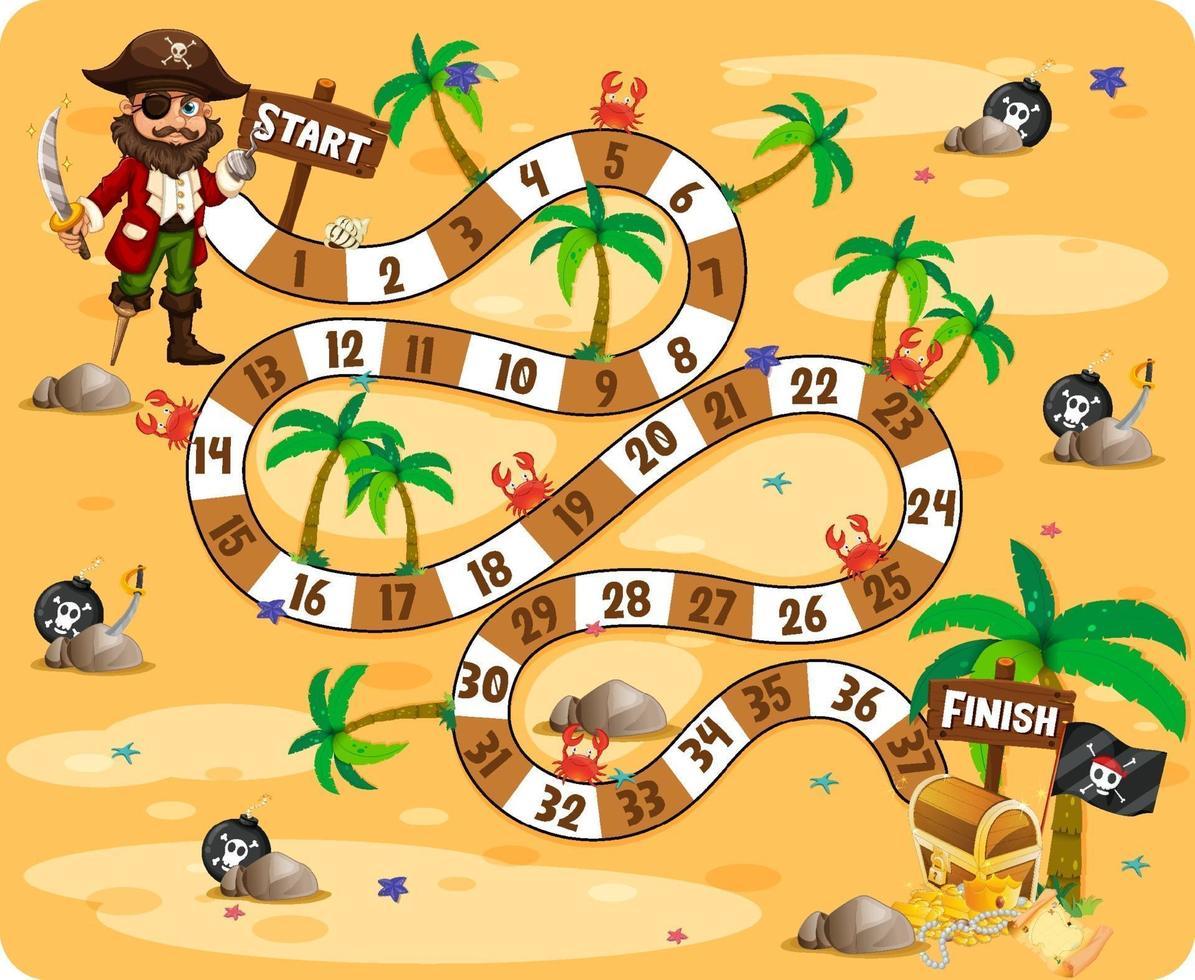 Cute cartoon maze game template vector